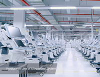 Centro de produção da Mindray